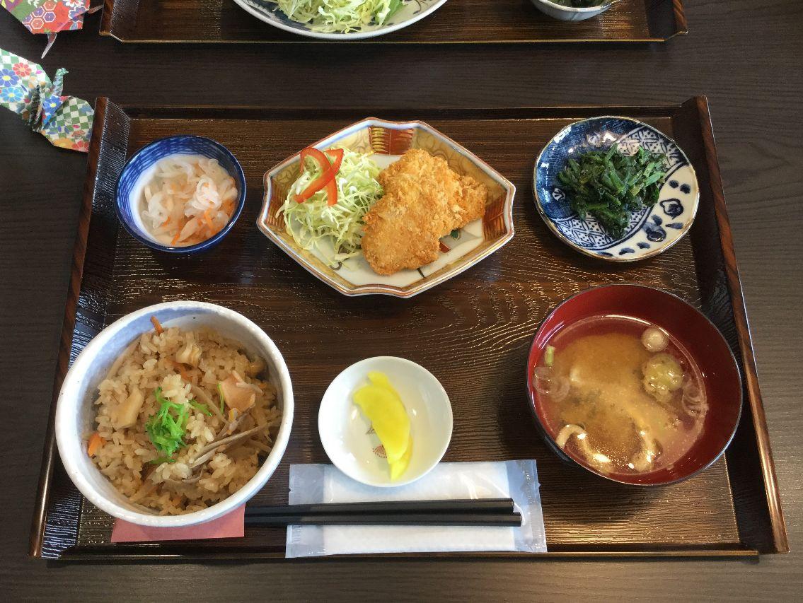 魚津のバイ飯定食